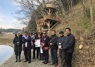 2016年冬に住民代表としてバンダ・アチェに渡航した山縣さんに、野蒜での被災、野蒜ケ丘への高台移転についての経験共有をしていただきました。